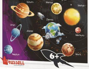 Russell  puzzle  100 dílků - Sluneční soustava