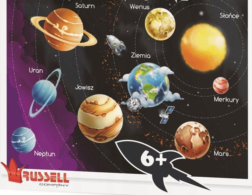 Russell puzzle 100 dílků - Sluneční soustava Russell Company
