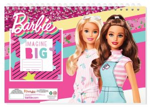 Set omalovánek + nálepek + skicák  -  Barbie B