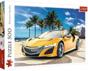 TREFL Puzzle  500 dílků -  Letní výlet autem  37381