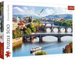 TREFL Puzzle  500 dílků -  Praha    37382