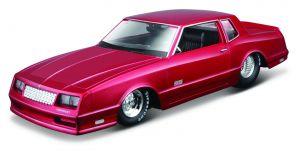auto Maisto  1:24 Design - Chevrolet  Monte Carlo SS 1986 - červený