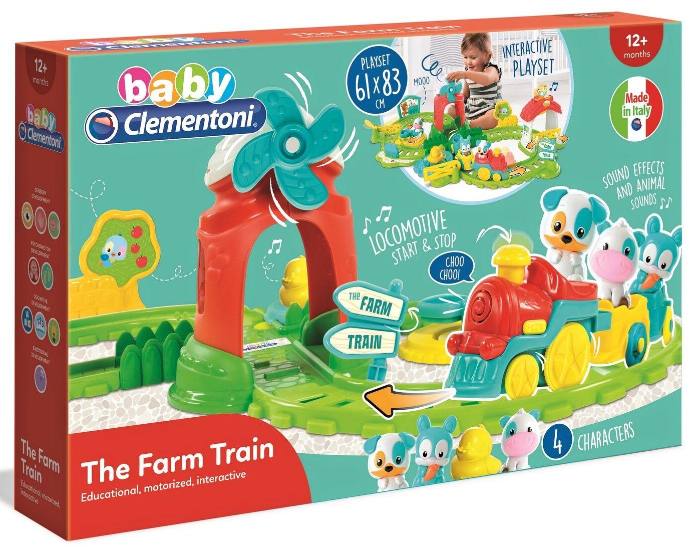 Clementoni Baby - Vlak farmáře 61 x 83 cm