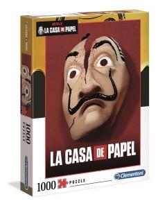 Clementoni Puzzle 1000 dílků  - Netflix  La Casa De Papel - Papírový dům  39533