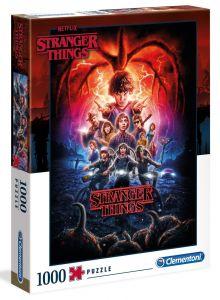 Clementoni Puzzle 1000 dílků  -  Netflix - Stranger Things 2  39543