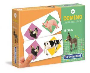 Domino  Clementoni   -  Zvířátka na farmě   18069