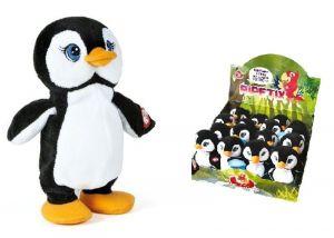 Giochi  Preziosi : plyšový mluvící - opakující tučňák  22 cm
