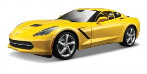 Maisto 1:18  Corvette Stingray 2014 - žutý
