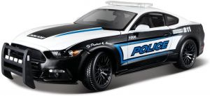 Maisto 1:18  Ford Mustang GT 2015 - policie