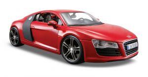 Maisto  1:24 Audi R8  - červená barva