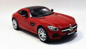 Maisto  1:24 Mercedes AMG  GT - červená barva