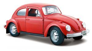 Maisto  1:24 Volkswagen Beetle   - červená barva