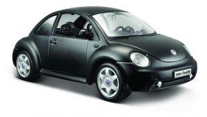 Maisto  1:25 Volkswagen New Beetle   - matná černá barva