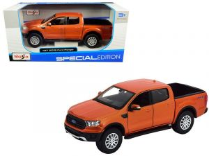 Maisto 1:27  2019 Ford Ranger  - oranžová  barva