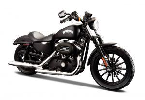 Maisto Harley Davidson 2014 Sportster Iron 883  1:12 černá   1:12 červená