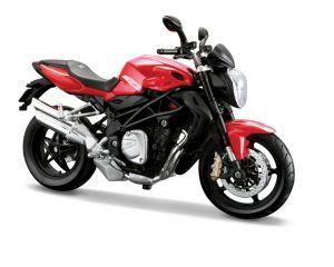 Maisto motorka 1:12 MV Augusta Brutale  1090 RR -  červená