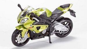 Maisto  motorka bez podstavce  -  BMW S 1000 RR  1:18  zelená