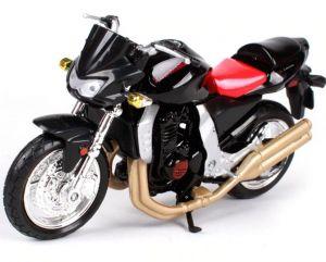 Maisto  motorka bez podstavce  -  Kawasaki  Z1000  1:18 černá