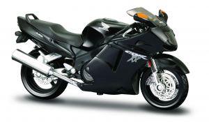 Maisto  motorka na stojánku - Honda CBR1100XX  1:18  černá