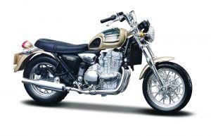 Maisto  motorka na stojánku - Triumph Thunderbird   1:18