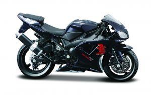 Maisto  motorka na stojánku - Yamaha YZF-R1  1:18  černá