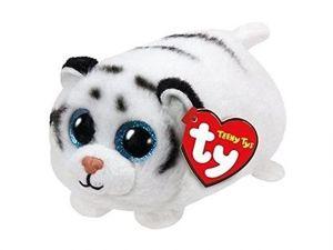 Plyšák TY - Teeny Ty´s - malá plyšová zvířátka -  bílý tygr Tundra 10 cm  42151