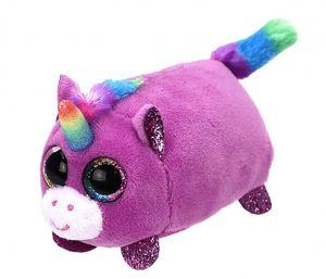 Plyšák TY - Teeny Ty´s - malá plyšová zvířátka - fialový jednorožec Rosette  10 cm   42149