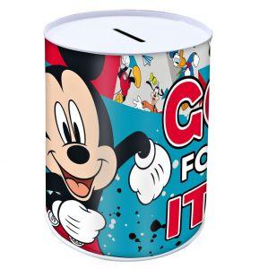 Pokladnička plechovka  10 x 15 cm  -  Mickey   Mouse B