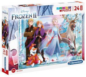 Puzzle Clementoni   24 dílků Maxi - Frozen II  28513