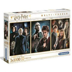 Puzzle Clementoni 3 x 1000 dílků - Harry Potter  61884