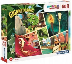 Puzzle Clementoni 60 dílků MAXI   -  Gigantosaurus  26457