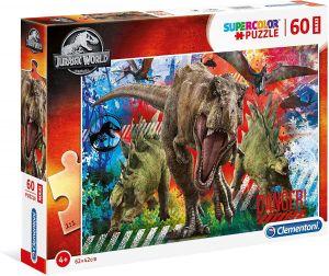 Puzzle Clementoni 60 dílků MAXI   - Jurassic  World  26456