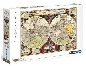 Puzzle Clementoni 6000 dílků - Antická mapa  36526