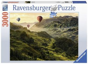 puzzle Ravensburger  3000 dílků -  Rýžová pole 170760