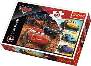 Puzzle  Trefl  60 dílků  - CARS   17327