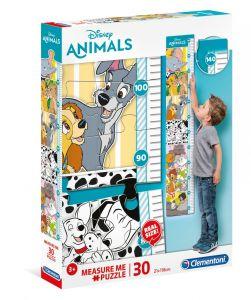 Růstový metr - ( puzzle ) Clementoni  30 dílků - Disney Animals   20335