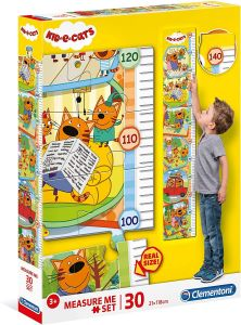Růstový metr - ( puzzle ) Clementoni  30 dílků - Kid & Cats  20339
