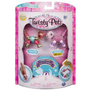 Spin Master Twisty Petz zvířátka a náramky - trojbalení