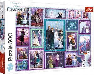 TREFL Puzzle  500 dílků -  Frozen II - galerie  37392