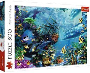 TREFL Puzzle  500 dílků -  Ukrytý poklad  37385