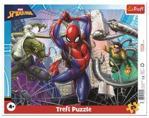 Trefl puzzle rámkové 25 dílků - Spiderman  31347