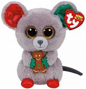 TY Beanie Boos - Mac  - myška  37196  - 15 cm plyšák