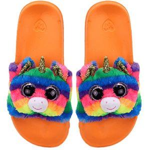 TY plyšové pantofle -  jednorožec GEMMA - vel. S ( 28-31 )  95410