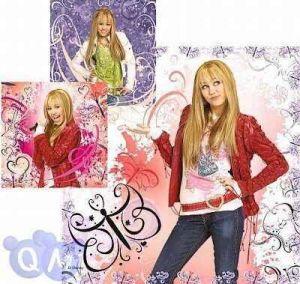 3x49 dílků Hannah Montana -   puzzle Ravensburger