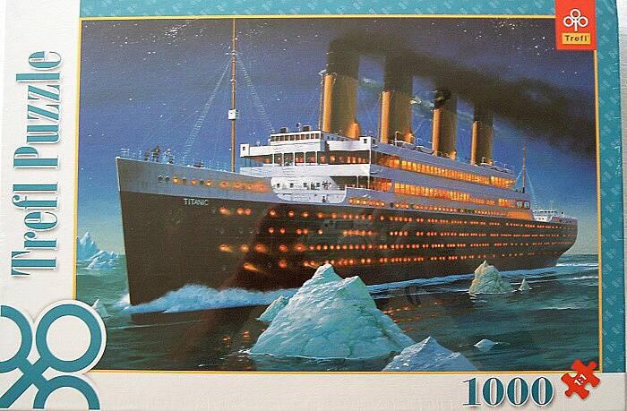 1000 dílků Titanic - puzzle Trefl