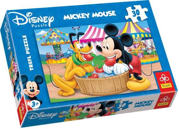 30 dílků - Mickey Mouse - puzzle Trefl 18125