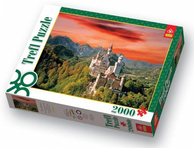 2000 dílků Zámek Neuschwanstein puzzle Trefl 27050