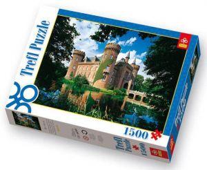 1500 dílků Zámek Moyland v Německu - puzzle Trefl