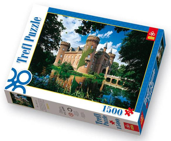 1500 dílků Zámek Moyland v Německu - puzzle Trefl 26074