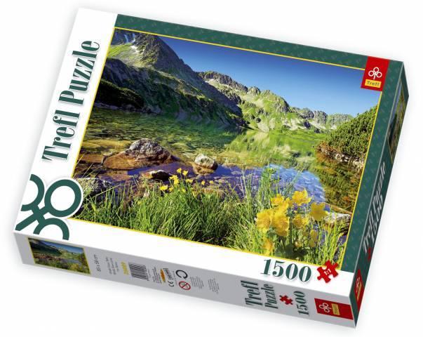 1500 dílků Pleso v Tatrách - puzzle Trefl 26089